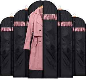 Foldable Oxford Fabric Garment Bags for Storage 5 Pack 60 Inch for Travel - Better Daily Goods