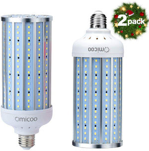 Led Corn Light Bulb 5000 High Lumen Led Bulb 240 Led Beads Super Bright Daylight White E26/A19 Base Energy-saving Corn Cob Led for Garage Factory Warehouse Bay Barn - Better Daily Goods