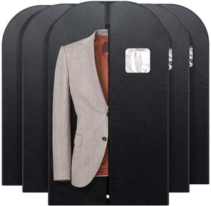 Foldable Nonwoven Fabric Garment Bags for Storage 5 Pack 42 Inch for Travel - Better Daily Goods