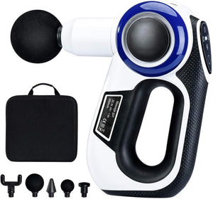 Massage Gun Deep Tissue Percussion Muscle Massager for Pain Relief Handheld Electric Body Massager Hypervolt Portable Massage Gun Muscle Deep Relaxation Super Quiet Includes 5 Massage Heads - Better Daily Goods