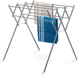Foldable Drying Rack Towel Rack Stainless Steel - Better Daily Goods