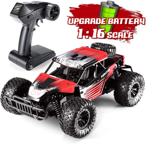 Leapdream Rc Cars Remote Control Car for Adults 1:16 Scale RC Trucks Hobby Rc Cars for Kids With 2020 Upgraded Rechargeable Battery 2.4 Ghz High Speed Off-Road Racing Car - Better Daily Goods