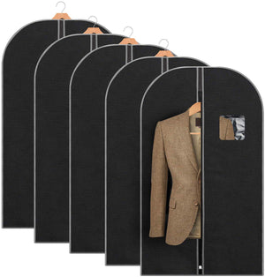 "Titan Mall Garment Bag 42"" Suit Bag for Travel Breathable Garment Bag for Dress and Coat"