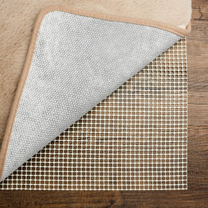 Pretigo Non Slip Area Rug Pad,5x8 Rug pad,Carpet Gripper for Any Hard Surface Floors,Provides Protection and Cushion for Area Rugs and Floors - Better Daily Goods