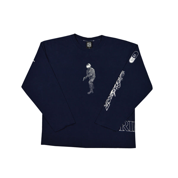 Full [Navy] Long Sleeve