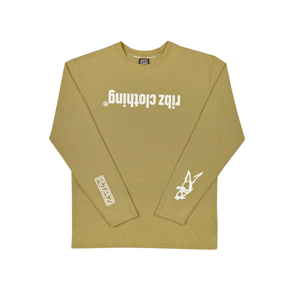 Upside Down [Tan] Long Sleeve