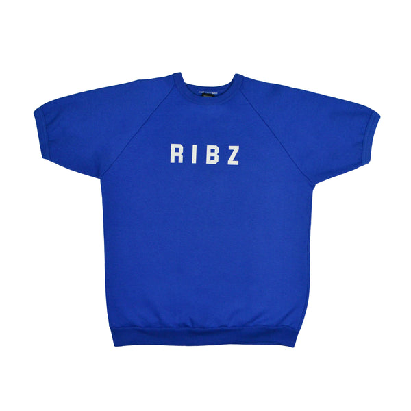School [Blue] Short Sleeve Sweater
