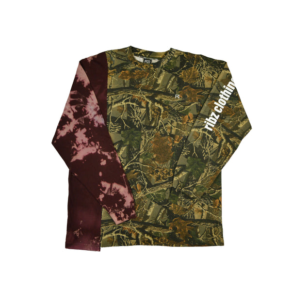 Bleach / Camo Long Sleeve