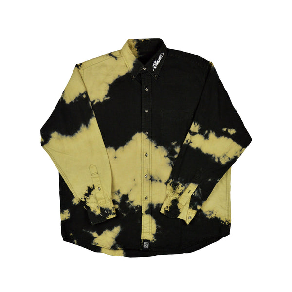 Tagged [Black] Button-Up