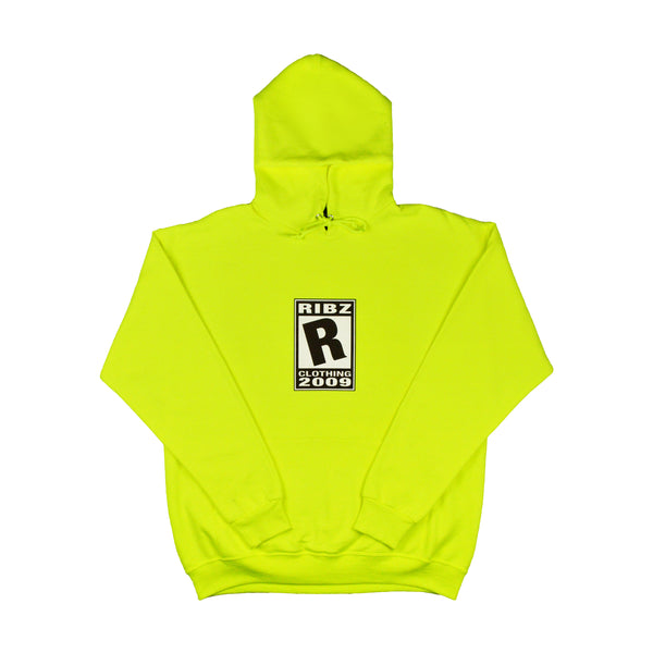 Rating [Safety Green] Hoodie