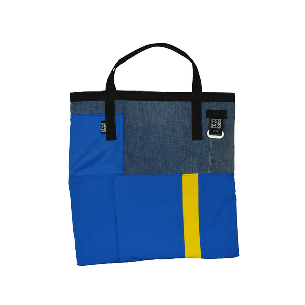Constructed [Blue] Totebag