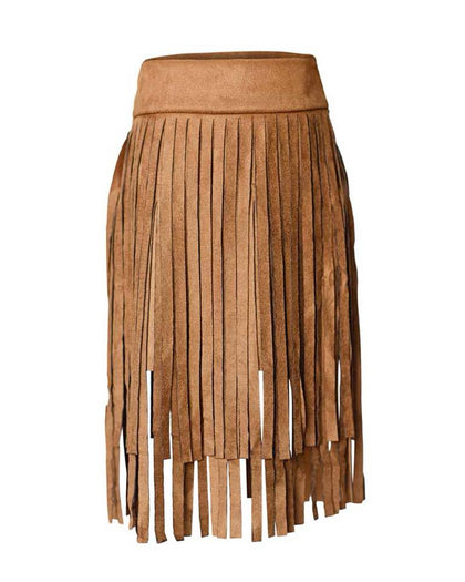 FRINGE FRENZY - SKIRT