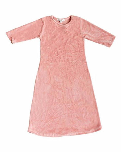 BLOSSOM - LONG VELOUR DRESS