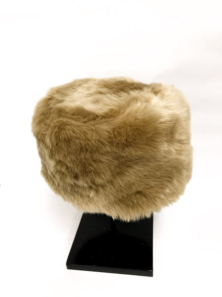 MEET ME IN MOSCOW - FAUX FUR BUCKET HAT