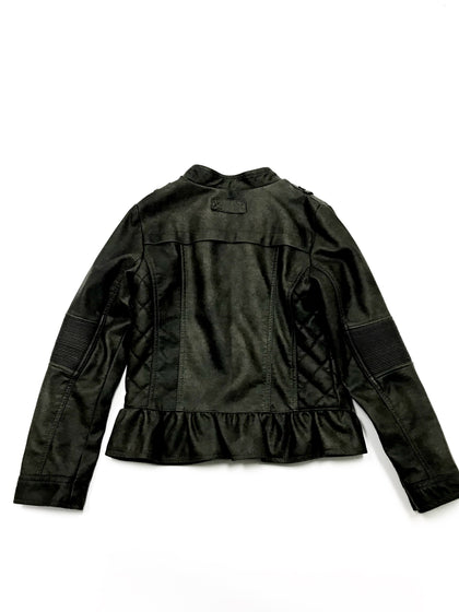 SASSY SAVAGE - VEGAN LEATHER MOTO JACKET