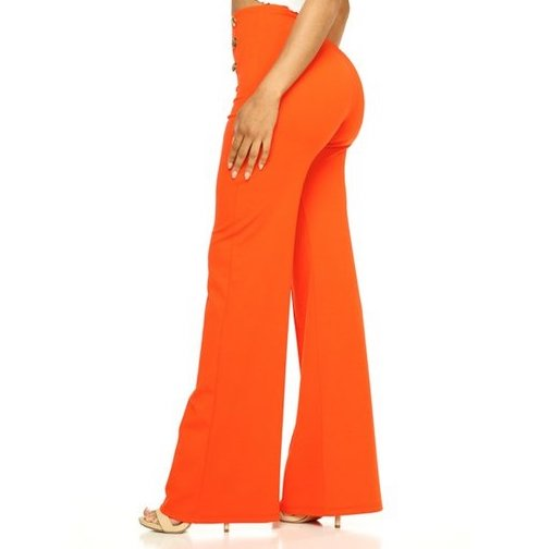 BALI MANGO - HIGH WAIST PULL ON TROUSERS