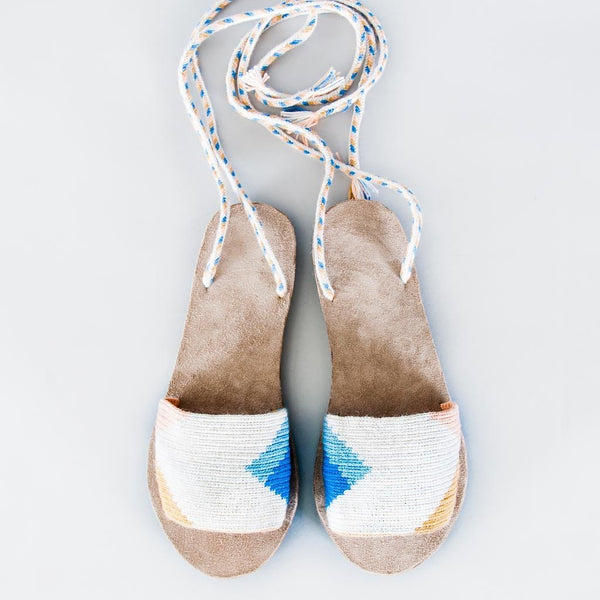 Lace-Up Sandals - Shuaru Snowbound