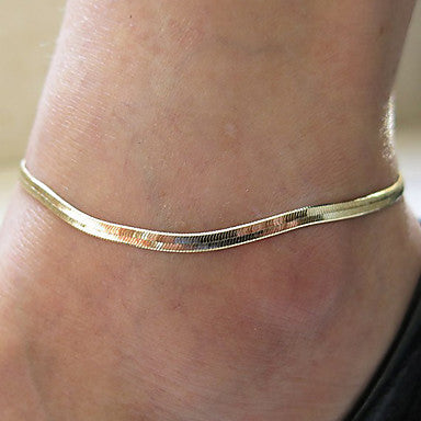 Flurr Korvoski Silver And Gold Anklet