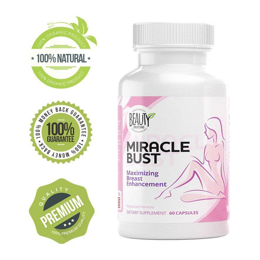 Miracle Bust Breast Enhancement Supplements Vitality Health And