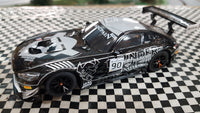 SWC01 Scalextric Mercedes AMG GT3 Black No.90