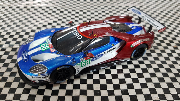 SWC02 Scalextric Ford GT GTE LeMans No.68