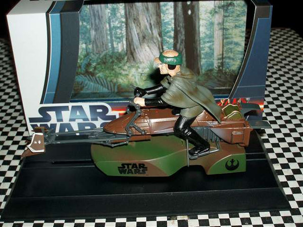 C3298 Scalextric Star Wars 74-Z Speeder Bike - Luke Skywalker