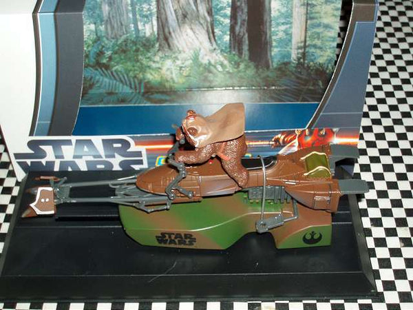C3299 Scalextric Star Wars 74-Z Speeder Bike - Ewok