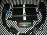 C8530 Scalextric Good used Sport Power Base with 2 Hand Controllers