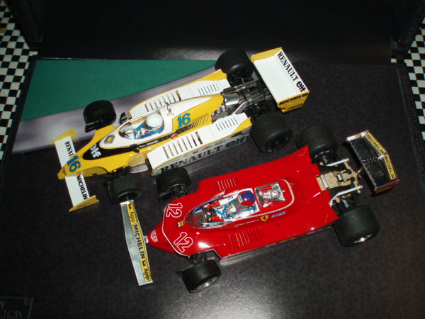 900104 SRC F1 Twin Set - Arnoux Villeneuve 1979 French GP Limited Edition