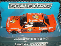 C3899 Scalextric E30 BMW M3 Jagermeister