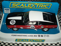 C3926 Scalextric Ford Mustang Boss 302 1970