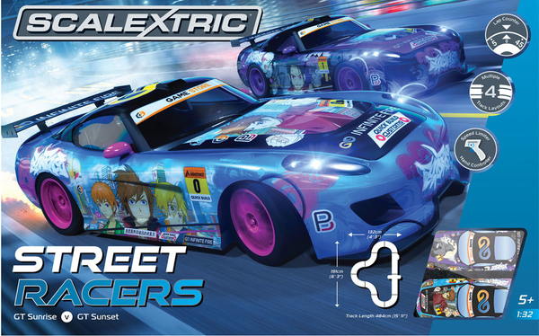 C1376 Scalextric Street Racers Set