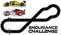 SW11 Endurance Challenge set - using all Scalextric