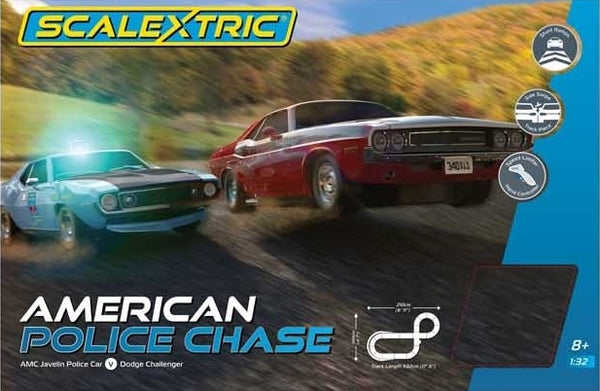 C1405 Scalextric American Police Chase Set