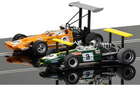C3589A Scalextric Winged F1 Legends 1969 - Mclaren M7c and Brabham BT26A