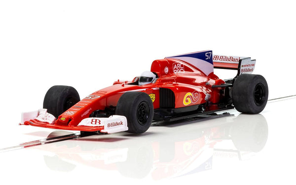 C3958 Scalextric Red F1 Like Ferrari Car
