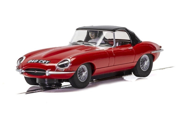 C4032 Scalextric Jaguar E-Type Red