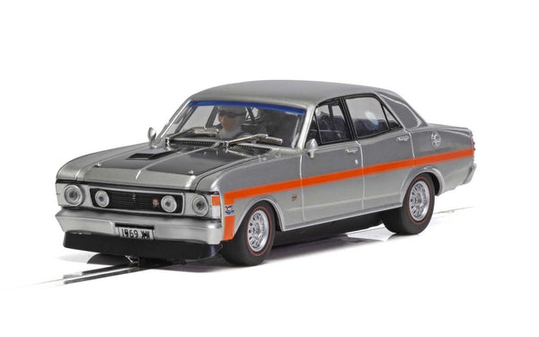 C4037 Scalextric Ford XW Falcon Silver Fox