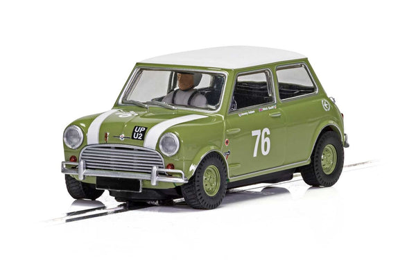 C4059 Scalextric Morris Mini Cooper S Green