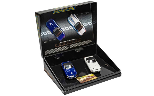 C4062A Scalextric Jaguar E-Type First Win 1961 Twin Pack