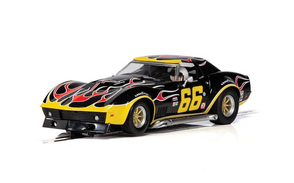 C4107 Scalextric Chevrolet Corvette Flame livery