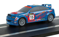 C4115 Scalextric Start Rally Car Blue