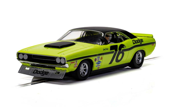 C4164 Scalextric Dodge Challenger Lime Green