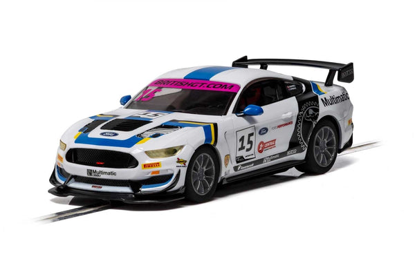 C4173 Scalextric Ford Mustang GT4 British GT