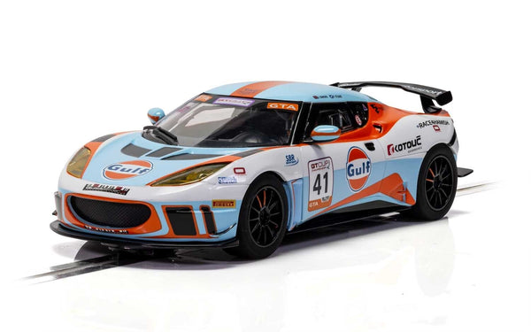 C4183 Scalextric Lotus Evora - Gulf Edition