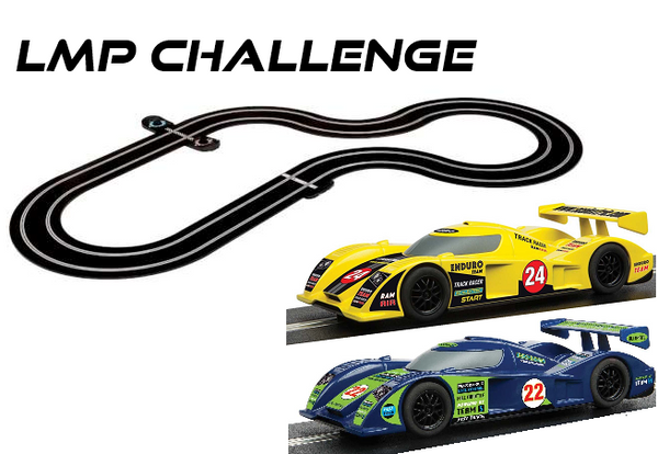 SW08B LMP Challenge with lap counter