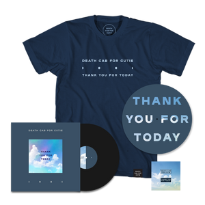 Thank You for Today + Exclusive Tee + Slipmat + Enamel Pin Set - Black Vinyl