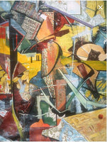 Composition Tanya ©2000 Brent Holland at Studio Holland Art