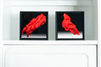 Red Right (right) Red Left (left) ©2016 Brent Holland www.studiohollandart.com