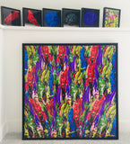 Biomorphic Series Framed Prints (22 selections)